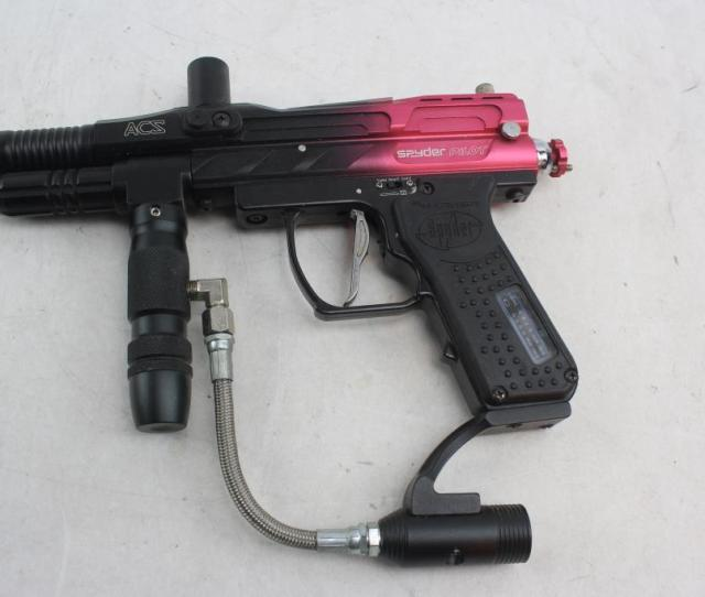 Spyder Pilot E Marker Paintball Gun Shooter