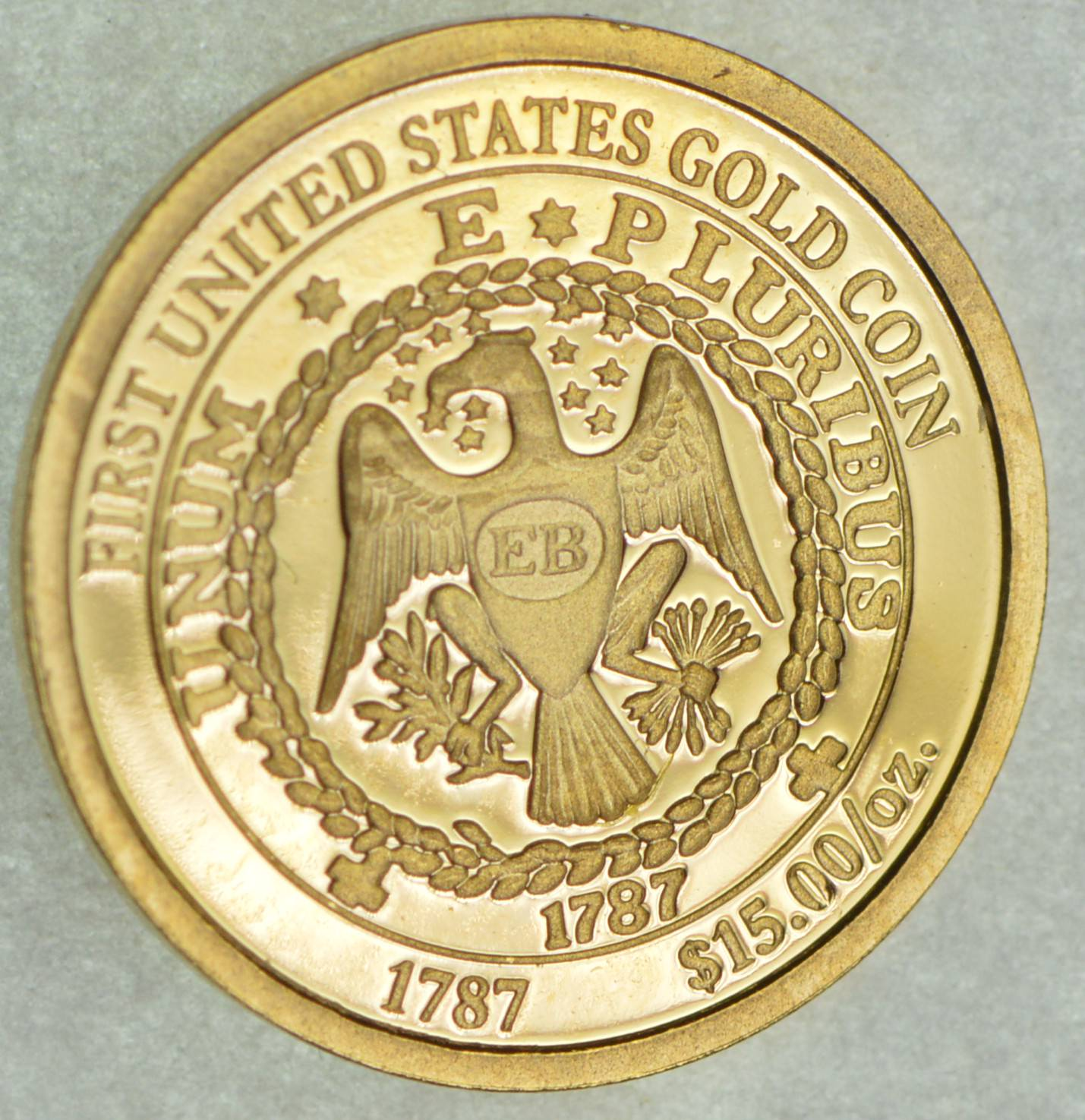 14k First United States Gold Coin
