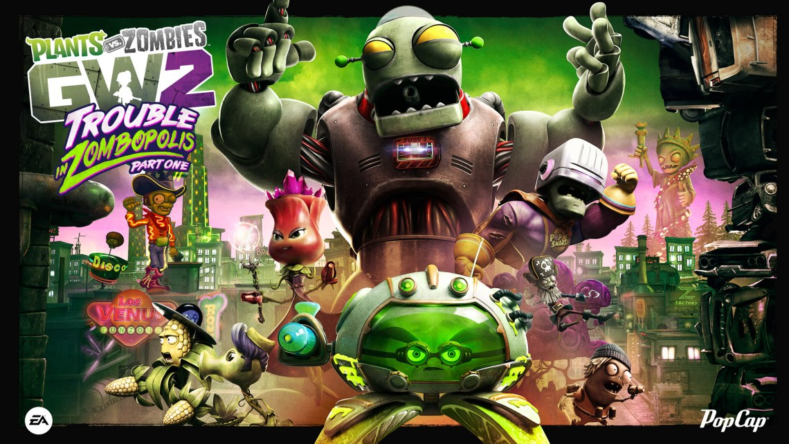 Image Result For Plants Vs Zombies Garden Warfare