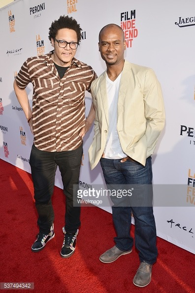 Raafi Rivero and Vincent Harris during opening night of the 2016 Los Angeles Film Festival on June 1, 2016 in Hollywood, California.