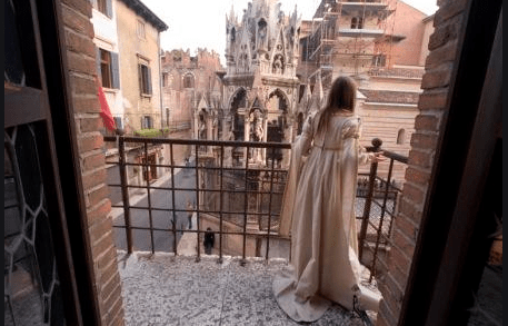 To Romeo and Juliet's Verona