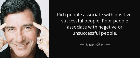 Associate with successful people