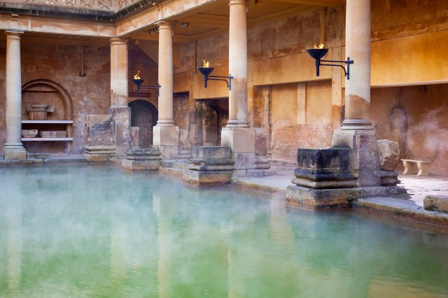 Roman Baths at Bath, UK