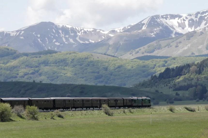 Tratta del treno storico Sulmona- Pescocostanzo