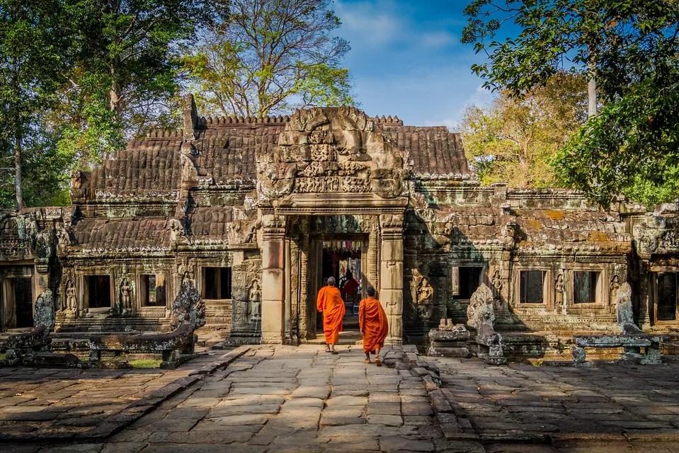 Angkor Wat, salah satu situs warisan dunia UNESCO