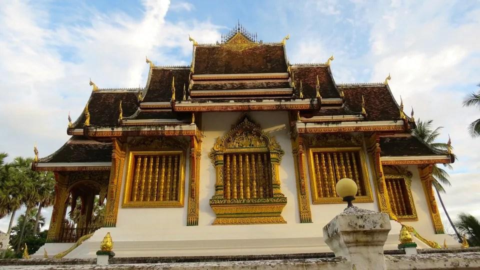 Salah satu bangunan di Luang Prabang