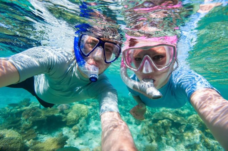 Snorkeling Corse
