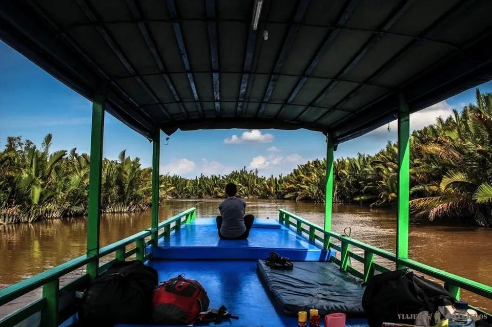 viaje en solitario por la amazonia