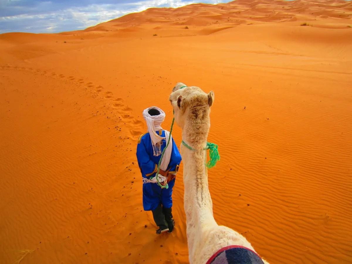 Marokko med ørkenen, kameler, surfing på havet og et fantastisk kjøkken - et av de billigste destinasjonene for rekreasjon i 2021