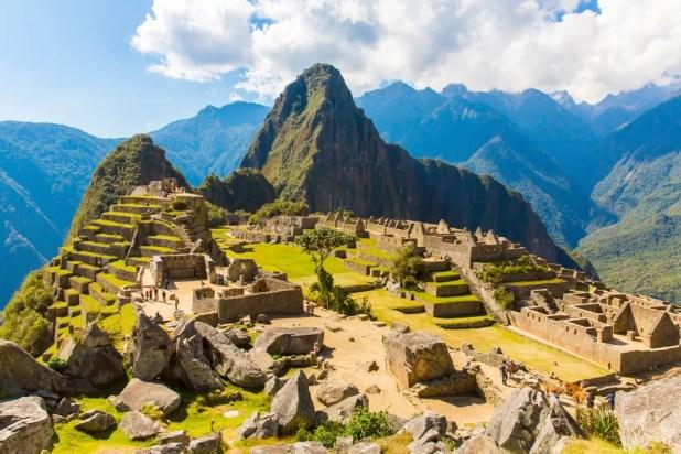 Machu Picchua, no Peru, é quase unanimidade quando o assunto é lugares incríveis.
