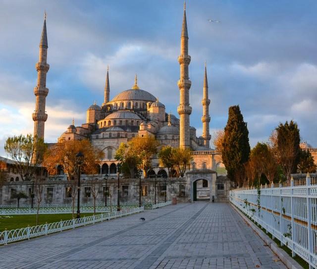Mesquita Azul, em Istambul, Turquia.