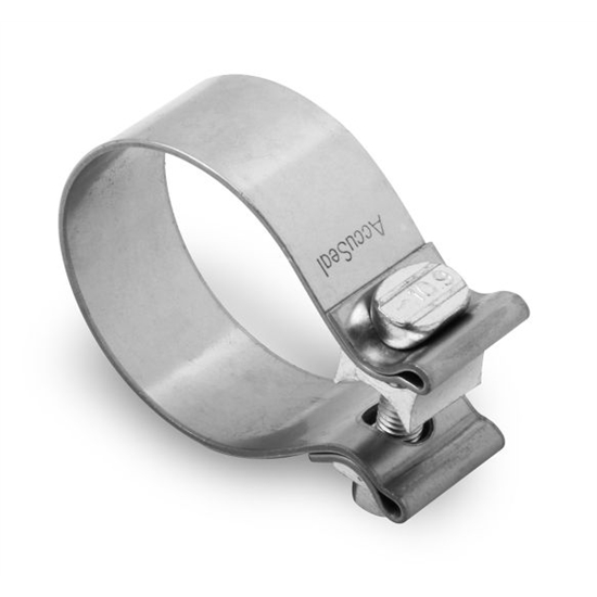 hooker 41165hkr stainless steel band clamps 2 1 2 inch 2 pack