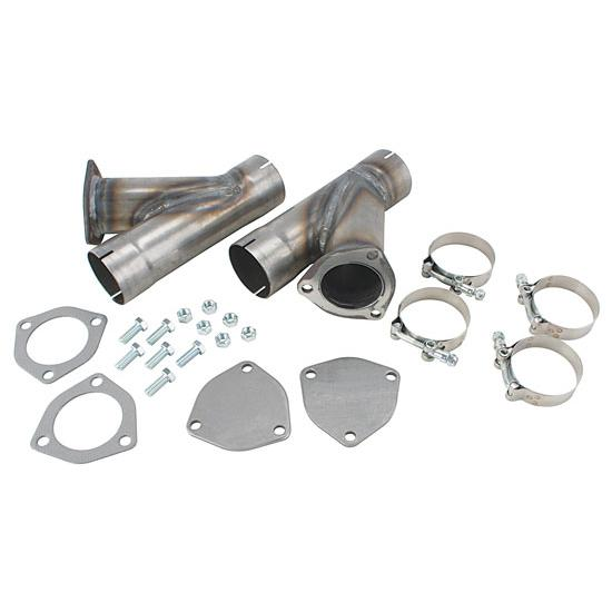 dougs headers h1130 exhaust cut out hook up kit 2 1 2 inch