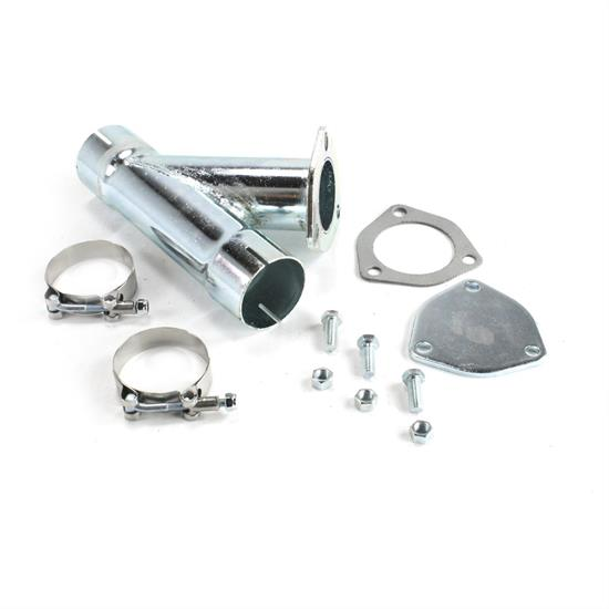 patriot exhaust h1129 exhaust cut out hookup kit 2 1 4 inch single