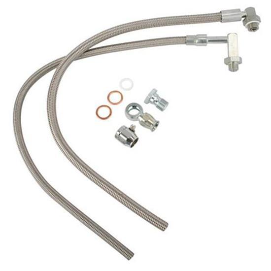gotta show 131101 mustang t bird rack pinion power steering hose kit