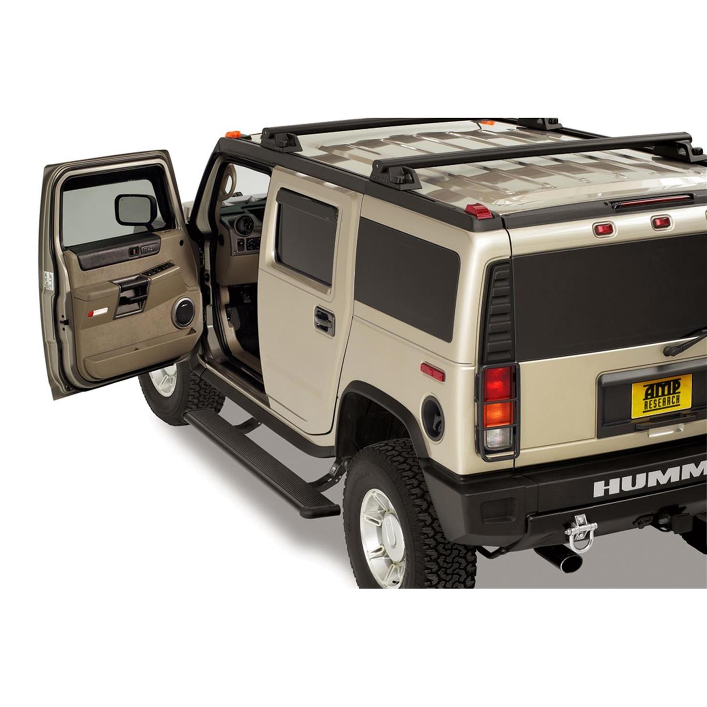 AMP 01A PowerStep Running Boards 2003 09 Hummer H2