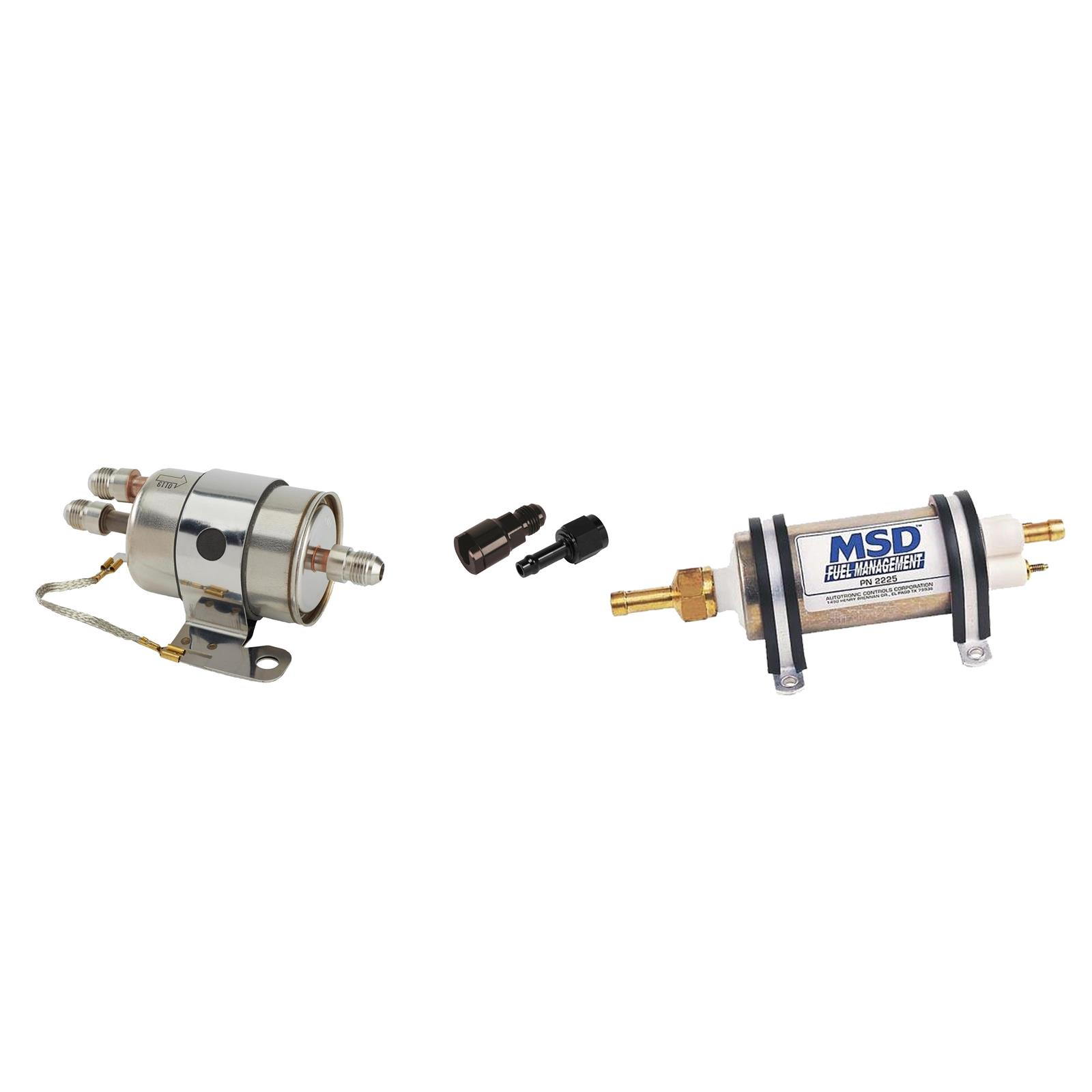 Push Lock Hose Filter Fittings Kit Gm Ls Engine Fuel Line