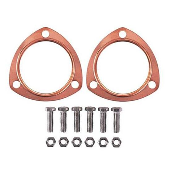copper collector exhaust gaskets 2 1 2 inch