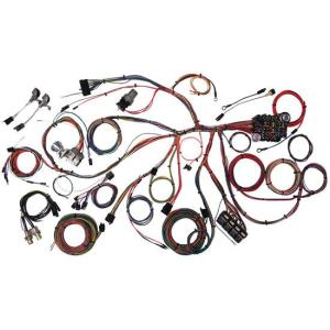 American Autowire 510055 196768 Mustang Wiring Harness