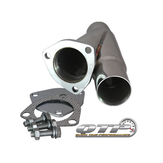 qtp 10250 2 50 in stainless steel exhaust cutout