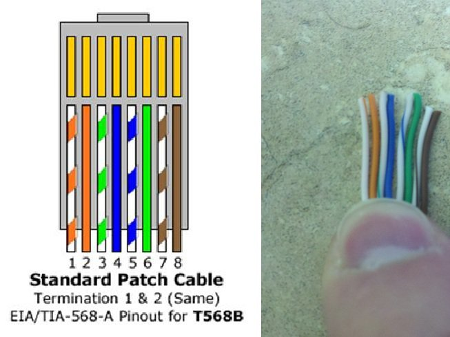 make a cat6 patch cable  networking