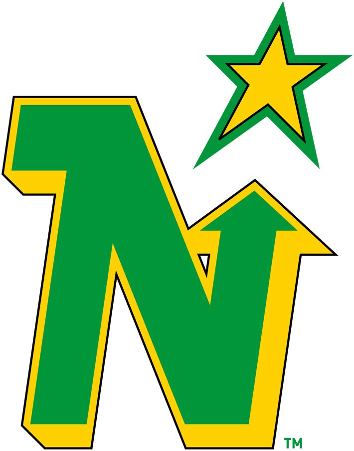 Minnesota North Stars Primary Logo - National Hockey ... (710 x 905 Pixel)