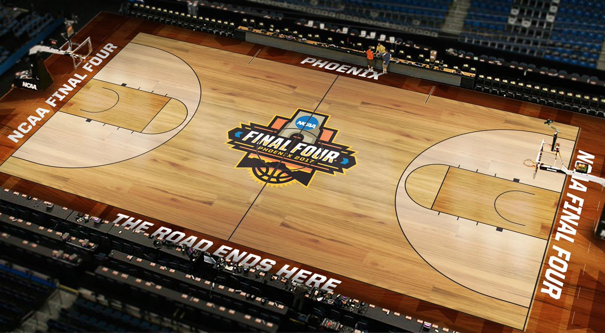 Image result for final four 2017 court