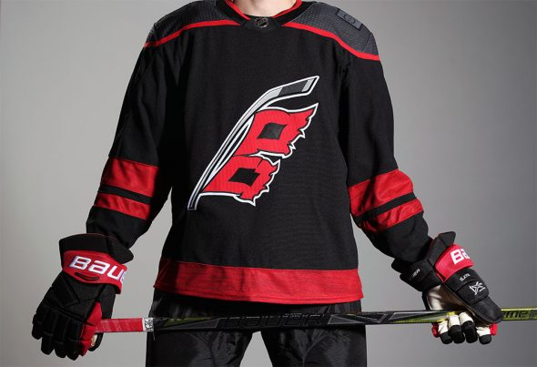 Image result for carolina hurricanes third jersey