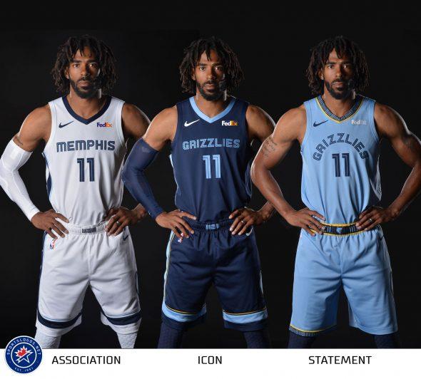 super popular a1f95 c1899 Memphis Grizzlies Release New Uniforms – Fastbreak Daily