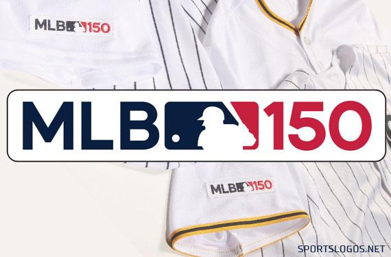ee885f1fa MLB teams sport 150-anniversary logo – The Dutch Baseball Hangout