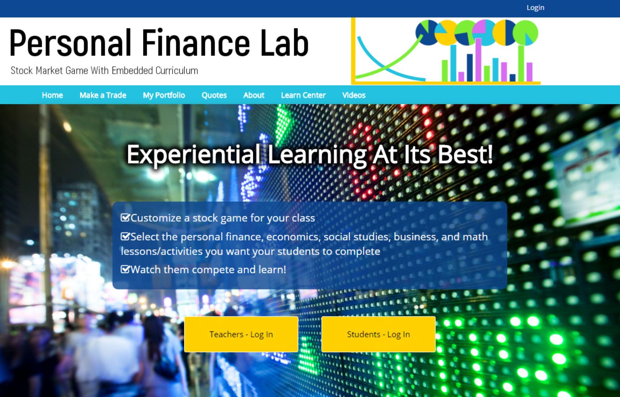 High School Financial Literacy Lab