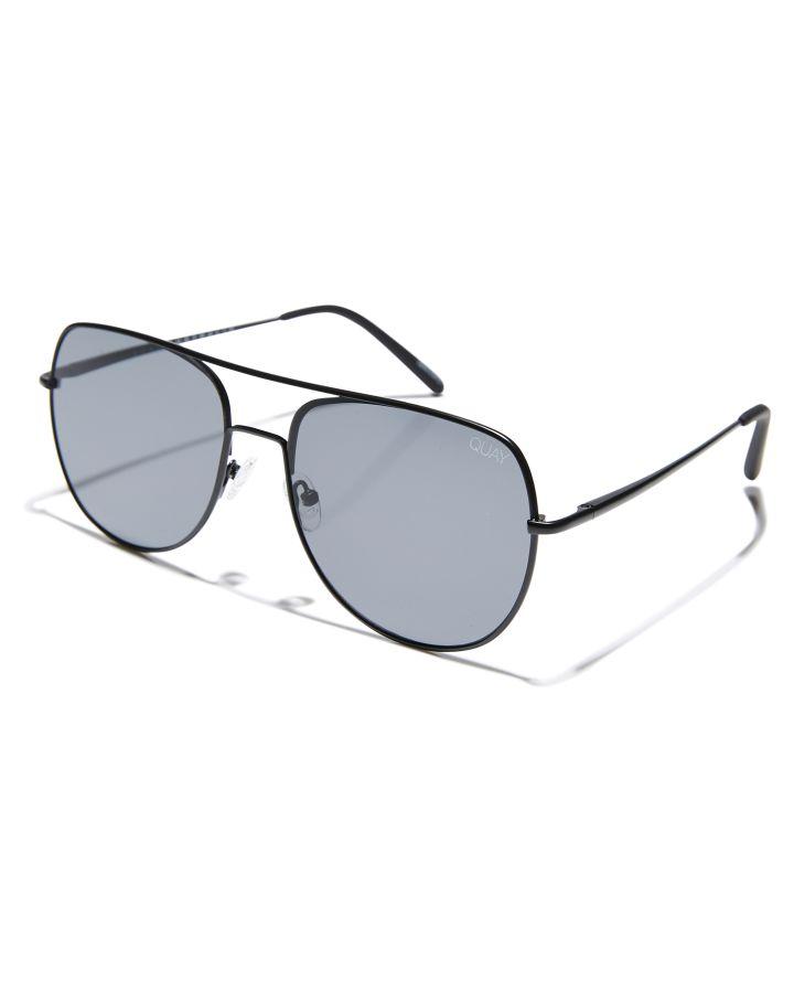16c3148382 Quay Eyewear Living Large Sunglasses Black Smoke Lens Mens ...