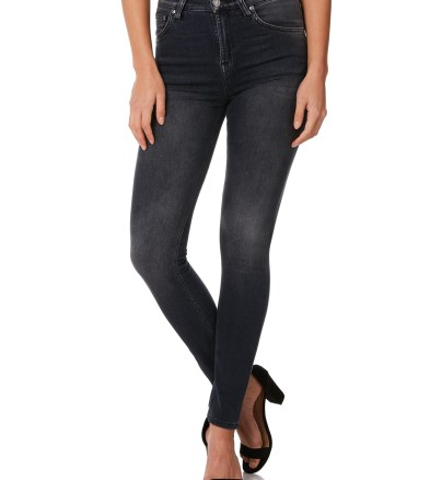 4143142251a6 Nudie Jeans Co Womens Hightop Tilde Jean Black Movement Womens jeans  Available on sale now in size 29 ...