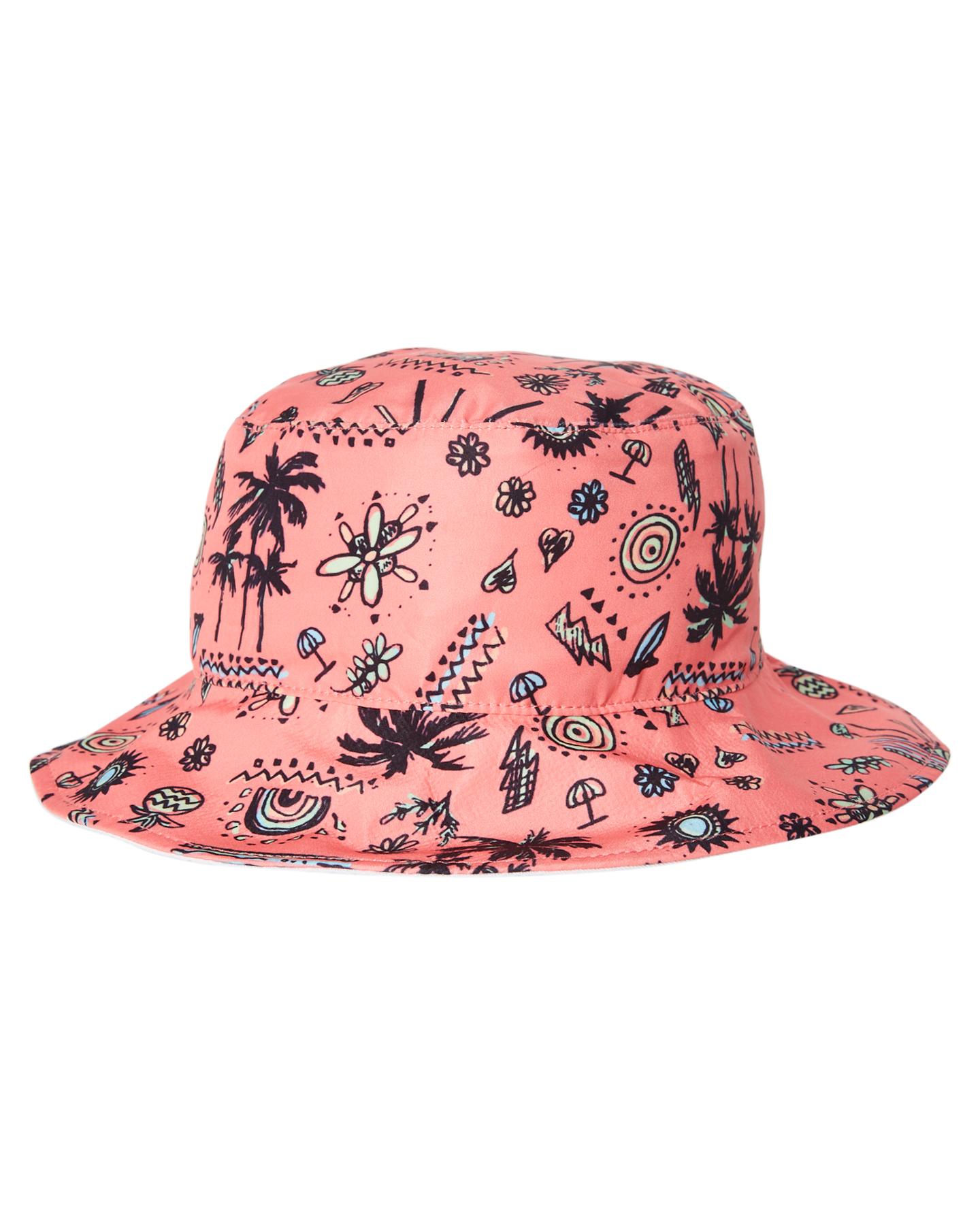 bdffbefc Rip Curl Tots Girls Anak Bucket Hat Coral Coral Accessories Size ...