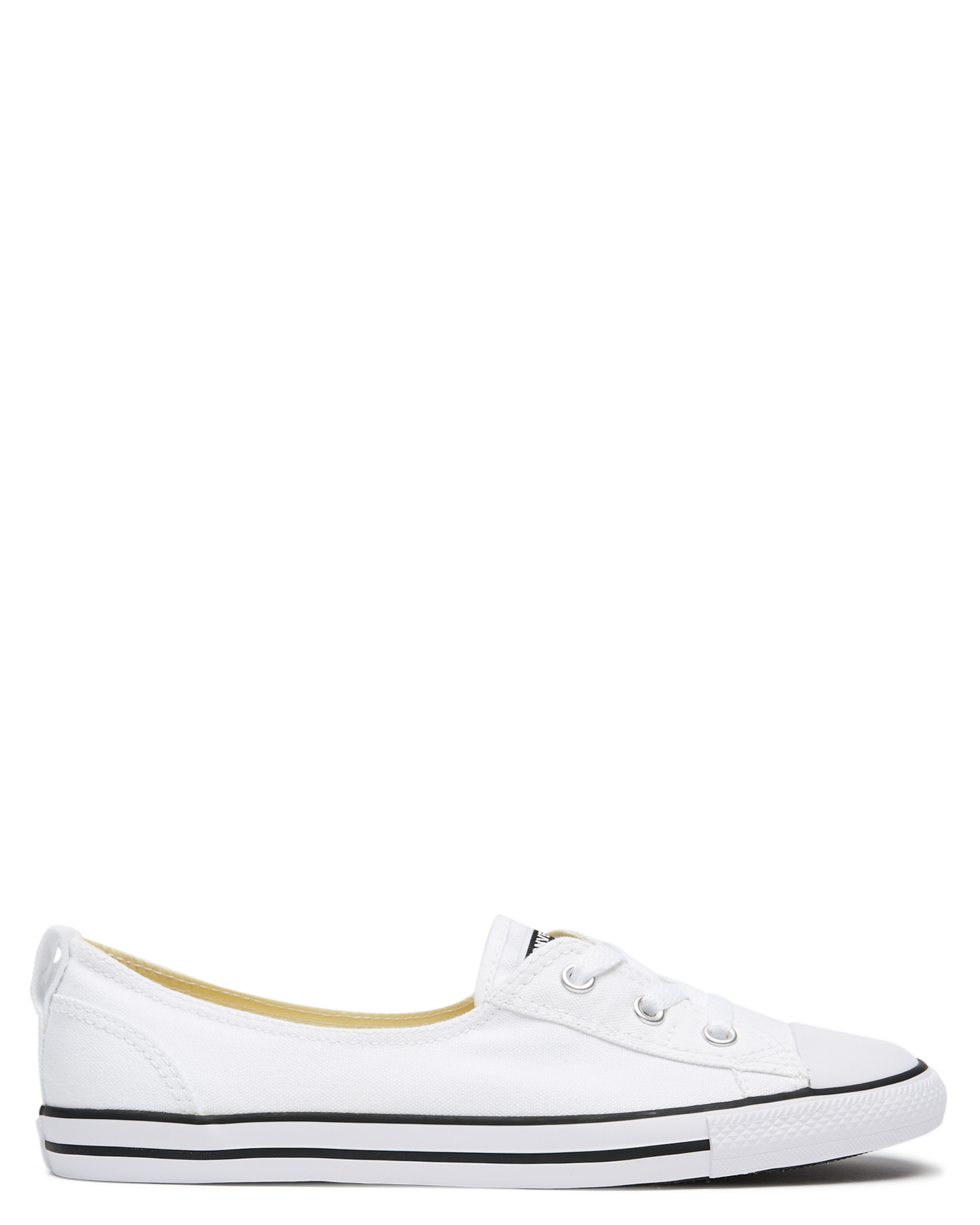 Converse Chuck Taylor All Star Ballet Lace Shoe White Womens ... c888459f58