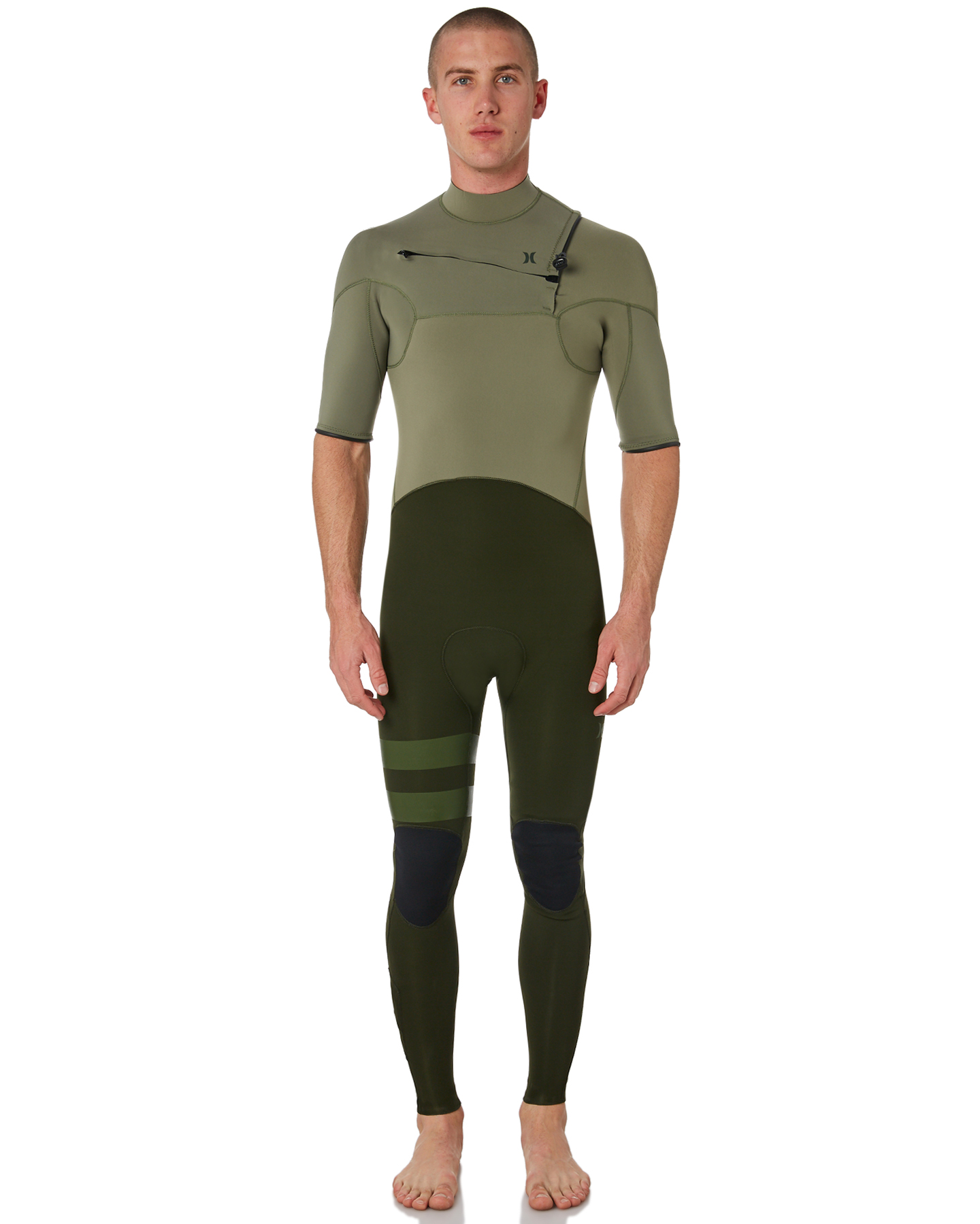 5845e56c6e Hurley Advantage Plus 2X2Mm short sleeve Steamer Wetsuit Twilight Marsh  Twilight Marsh