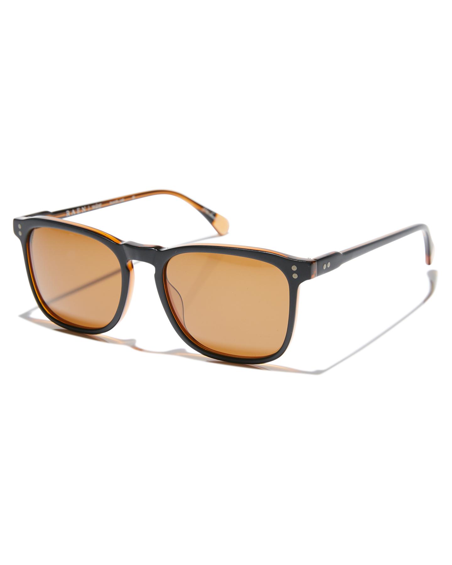 7c0df91732 Raen Wiley Polarized Sunglasses Black Brown Mens sunglasses Size ...