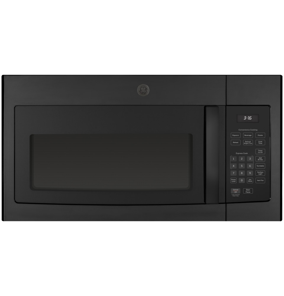 jvm3160rfss ge 1 6 cu ft over the range microwave oven stainless steel