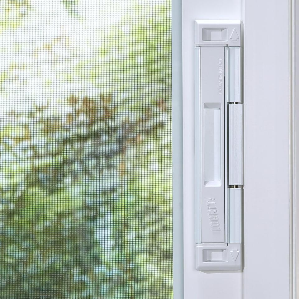 lockit white stainless steel sliding patio door double bolt lock sliding patio door double bolt lock