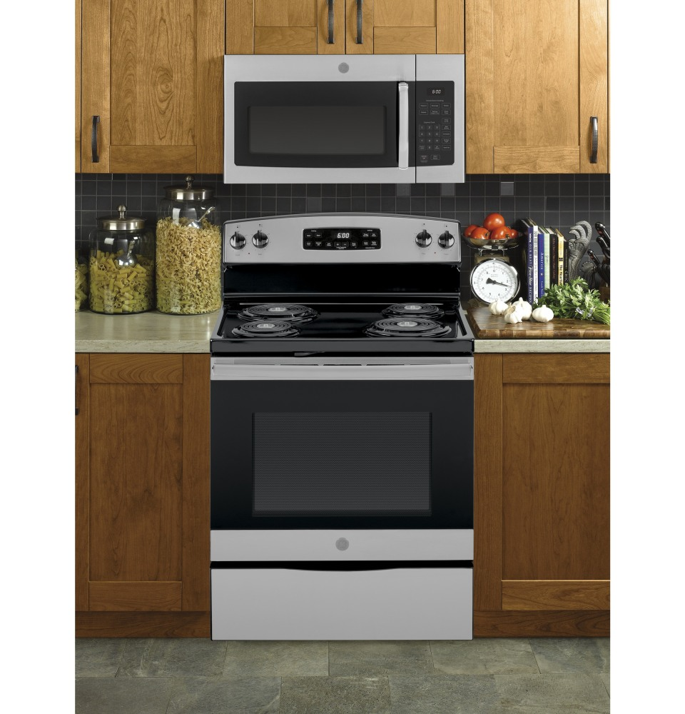 range microwave oven stainless steel