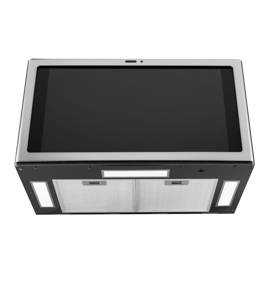 uvh13012mss ge profile kitchen hub under cabinet hood with wifi stainless steel