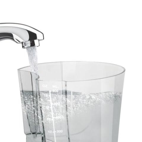 Reservatório de água de alto volume
