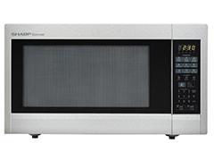 sharp 1 8 cu ft 1100 watt countertop microwave stainless steel