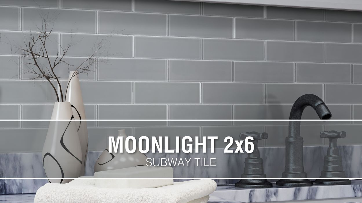 elida ceramica moonlight subway 12 in x 12 in glossy glass subway wall tile