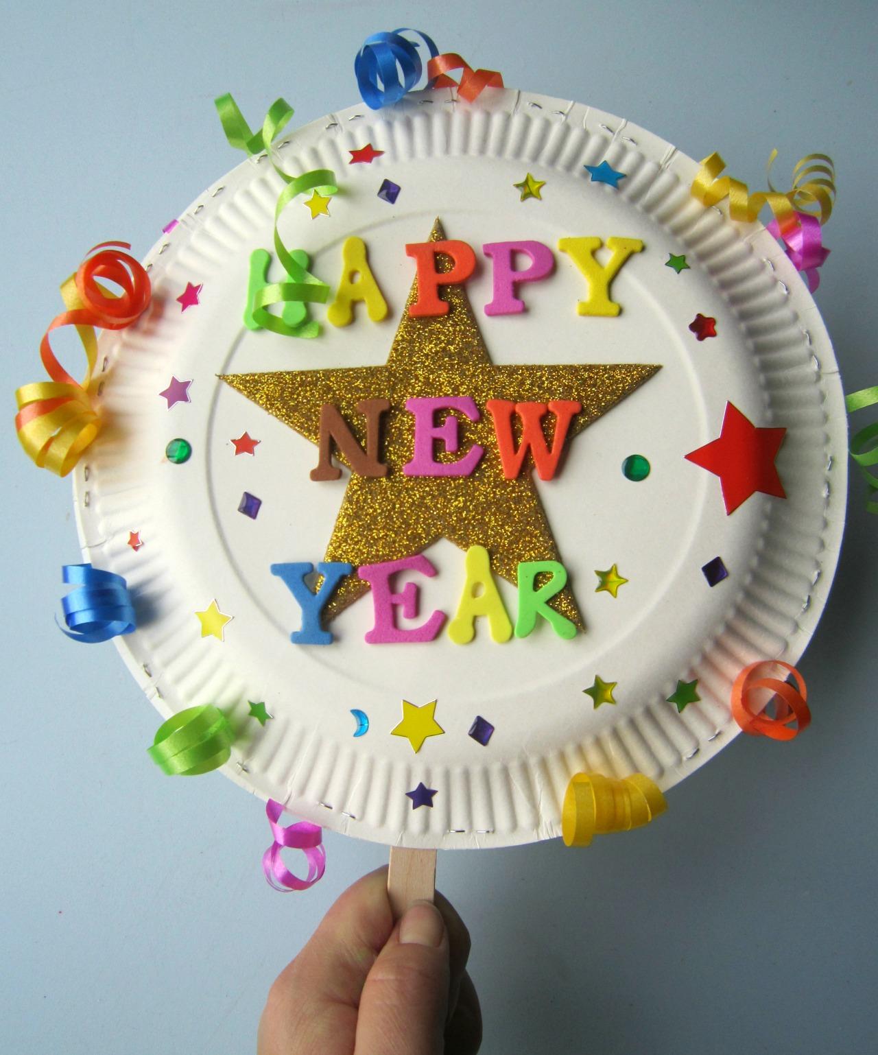 New Year Craft Idea Happy New Year Craft