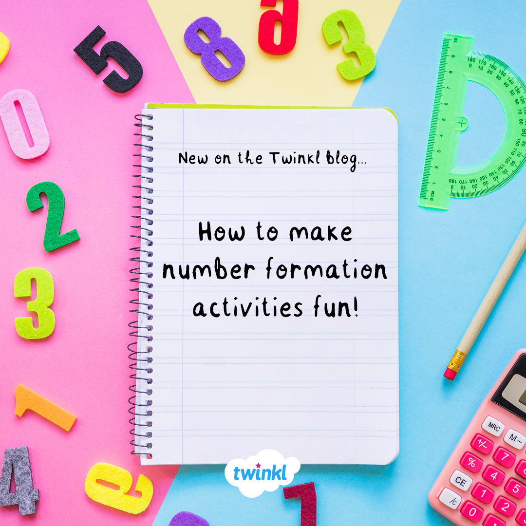 How To Make Number Formation Activities Fun