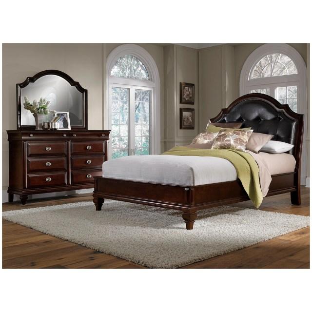 Manhattan 6 Piece Queen Bedroom Set Cherry