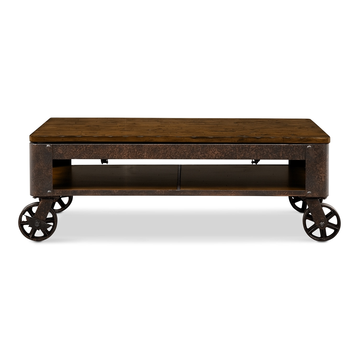 shortline lift top cocktail table value city furniture bt2 8 rustic wood furniture