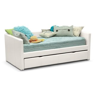 Carey Full Daybed With Trundle White