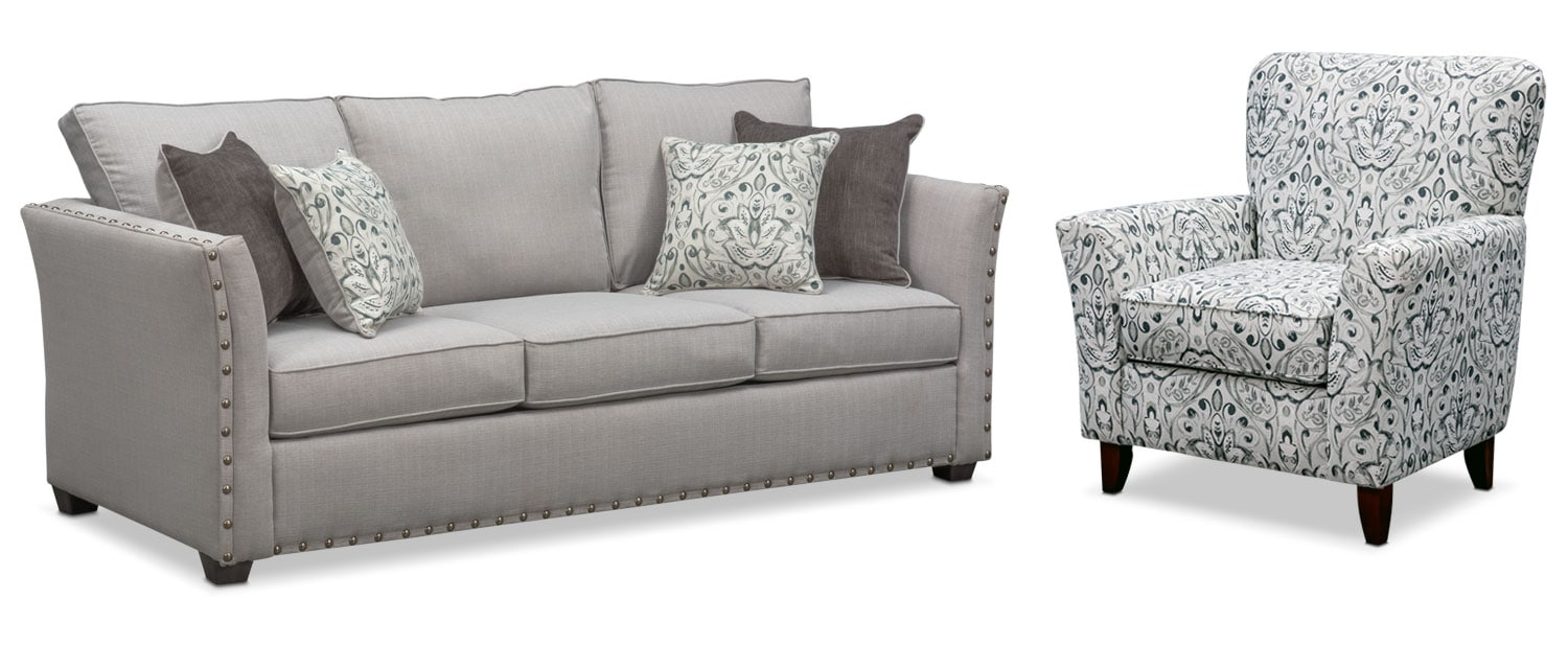 Mckenna Sofa And Accent Chair Set